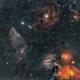 ciel dans la constellation du scorpion,                                laup1234