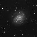 NGC 4535 - spiral galaxy in Virgo,                                Yuriy Mazur