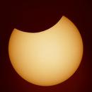 Partial solar eclips,                                Piet Vanneste