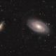 Messier 81 und Messier 82,                                Michael Schröder