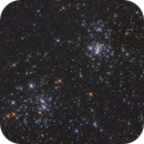 Double Cluster NGC 869 and NGC 884 - RGB,                                Thomas Richter