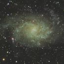 M33 -  Triangulum Galaxy,                                MFox