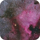North America nebula taken with 135mm Rokinon lens,                                Marc Ricard