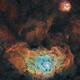 Mosaique M8-M20 masters SHO + L,                                astromat89