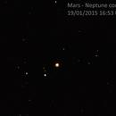 Mars - Neptune conjunction 19/20 January 2015,                                Die Launische Diva