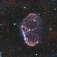NGC 6888 en bi-color,                                FranckIM06