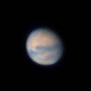 Mars @20° Altitude 08/27/2020 22:11 UTC,                                Falk Schiel