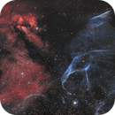 Gum 23 / RCW 38 / NGC 2736 Pencil Nebula HOO,                                Claudio Ulloa Saa...