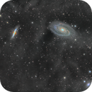 M81 and M82 + Some IFN in Bortle 9 Los Angeles,                                Markice Stephenson