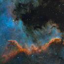 NGC7000 - Cygnus Wall,                                samlising