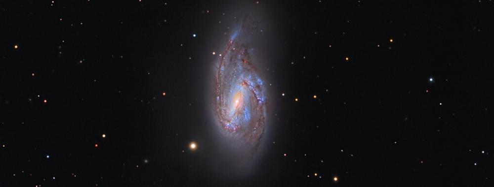 Messier M66,                                AstroRiccione