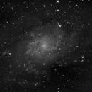 M33 Triangulum - Luminance,                                Salvopa