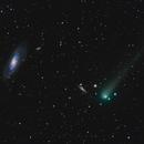 Comet C/2017 T2 PANSTARRS Meets Up With Messier 106,                                Terry Hancock