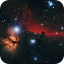 Horse Head Nebula IC 434, B33, NGC 2024,                                Pelayoaviles