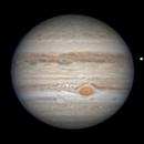 Jupiter on July 17, 2020,                                Chappel Astro