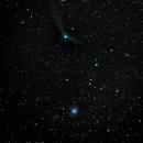 C/2013 US10 Catalina and Galaxy  M101,                                Francesco Landi