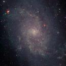 Messier 33 LRGB,                                Günther Eder