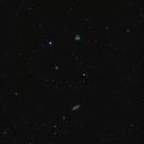 Owl Nebula and Surfboard Galaxy,                                yatsze