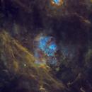 Sh2-115 & Sh2-112 in SHO (Starless),                                Douglas J Struble