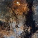 IC1318 in Narrowband,                                jijc76