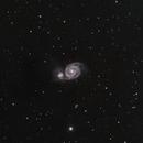 M51 - Whirpool Galaxy,                                R2Jay
