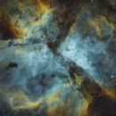 Carina Nebula in SHO - my first mono camera image ASI294mm,                                robonrome