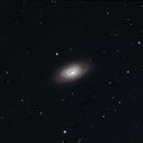 Black Eye Galaxy - M64,                                dswtan