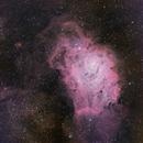 Pair M8 & M20 in Sagittarius,                                Jaime Felipe Ramírez Narváez