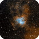 NGC 1491,                                Carl Weber