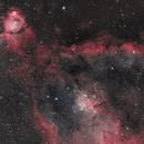 Heart Nebula HOO,                                Clem