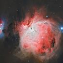M 42 Orion Nebula,                                Salvo Lauricella