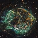 Cassiopeia A - Hubble+Chandra data,                                Fredrik Ödling