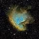 NGC 281 - SHO,                                Yannick Juillet