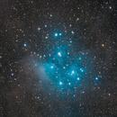 Pleiades (M45),                                jsines