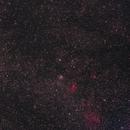 Wide view around M52 and the Bubble Nebula.,                                David Cocklin