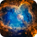 Heart Nebula in SHO,                                AstroForum