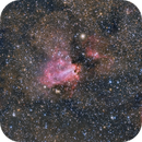 M16 Eagle and M17 Swan Nebulas,                                Michel Lakos M.