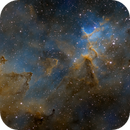 Melotte 15 in the Heart of IC 1805,                                John Hayes