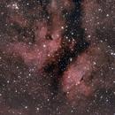 Butterfly Nebula in Cygnus,                                jllookup