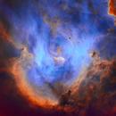IC 2944 SHO starless,                                Ben