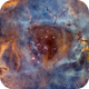 Caldwell 49 - in the Rosette Nebula - NGC2239/2244,                                Arnaud Peel