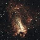 M17 - Omega nebula,                                PINCELLA Claudio