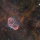 Nébuleuse du croissant (NGC 6888) - Sadr Espagne,                                Julien Bourdette
