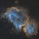IC 1848 - Soul Nebula - Narrowband,                                DanJunge
