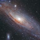 Andromeda Galaxy - Messier 31,                                Delberson