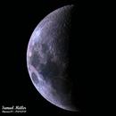 16 panels moon,                                Samuel Müller
