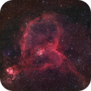 IC 1805 - The Heart Nebula,                                Frank Colosimo