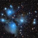 Pleiades, M45,                                rveregin