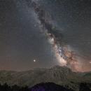 Milkyway over Dedegöl Mountain,                                Ahmet Kale