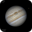 Jupiter and IO: May 31, 2020,                                Ecleido Azevedo